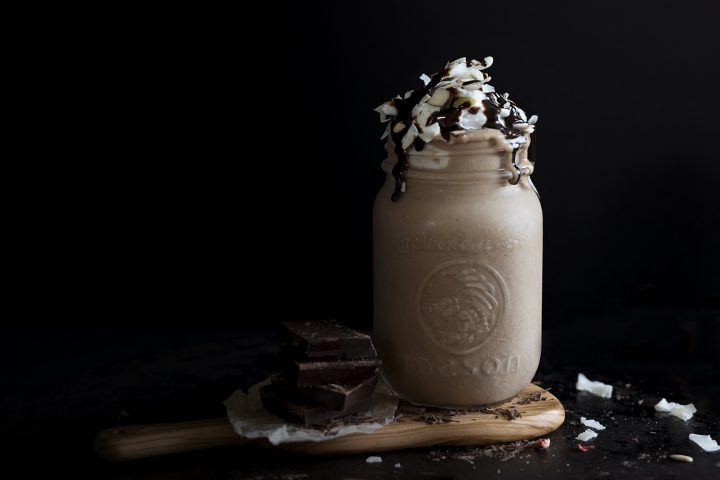 Chocolate Malt Smoothie